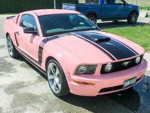 2007 Ford Mustang GT Coupe (2 door) Playmate Pink