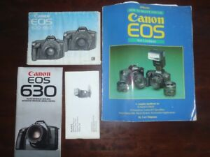 Canon EOS 620 SLR camera and equipment
