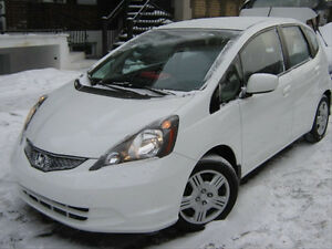 FIN DE LOCATION 2013 Honda Fit LX 69900 KM