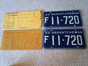 Looking for unissued SK truck plates????