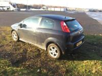 Fiat punto sport cheap first car low miles