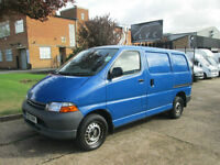 2001 Y-REG Toyota Hiace 2.5TD POWERVAN GS SWB 2800. NO VAT TO PAY.