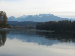 RIVERFRONT ACREAGE IN THE ROBSON VALLEY WEST OF McBRIDE, BC