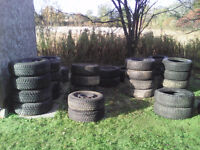 A few good used snow tires for sale