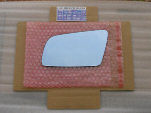 BMW E60 E61 E63 E64  BLUE HEATED Mirror LEFT Side+BCKING PLATE