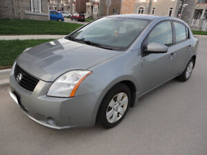 2008 Nissan Sentra 2.0 - with SAFETY AND EMISSION. $3600.