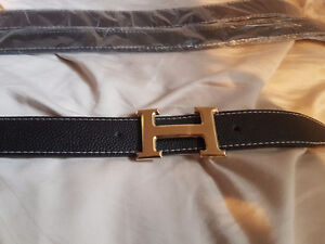 Selling synthetic leather Gold H-buckle belts Kitchener / Waterloo Kitchener Area image 2