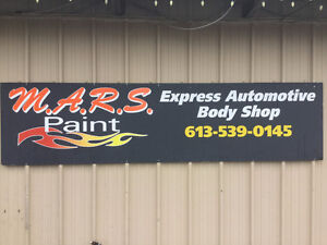 !!! MARS COLLISION EXPRESS AUTOMOBILE BODY SHOP !!!
