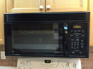 GE over the range microwave