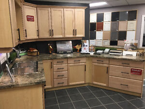 Natural Maple Cabinets Reduced Price!