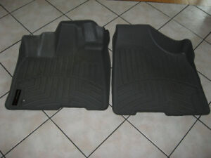 Front Weather Tec moulded cars mats for Toyota Sienna Van for sa