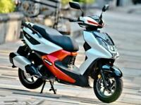 SYM FNX 125cc Automatic Scooter Learner Legal Commuter Latest Technology