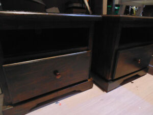 Solid Wood Nightstand Sets (Trail)