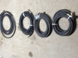power washer high press. hoses 20ft. lengths