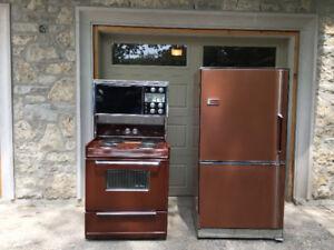 Moffat Stove and Frigidaire Refrigerator