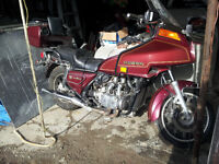 TRADE MY MOTORCYLCE FOR YOUR OLD FARM TRACTOR WITH LOADER