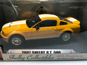 Ford Mustang Shelby got 500 2007 Diecast 1/18 Die cast