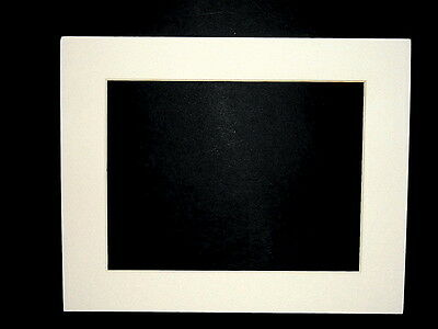 Pre Cut 8 X 10 In Off White Pearl Picture Photo Framing Mat Board