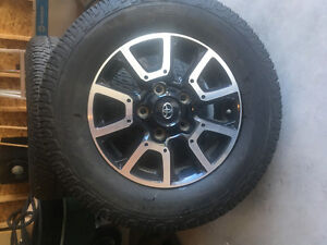 2015 TOYOTA TUNDRA RIMS AND TIRES