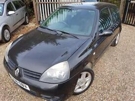Renault Clio 1.2 16v 75 ( a/c ) Campus Sport, Full History & Air Con, Alloys