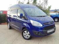 2017 Ford Transit Custom 2.0 TDCi 130ps L2 H2 Limited Van 2 door Panel Van