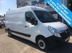 2010 60 VAUXHALL MOVANO 2.3 F3500 MWB FULLY FITTED WORKSHOP VAN WITH 500KG SWING