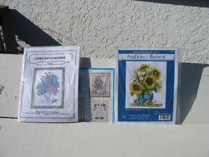 Flowers Cross Stitch Kits