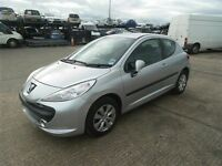Peugeot 207 1.4 petrol 2006 silver breaking all parts pug 207