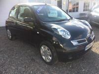 2009 NISSAN MICRA 1.5 dCi 86 Visia 3dr DIESEL GBP30 ROAD TAX