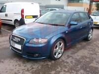 2007 Audi A3 S Line TDi Quattro 2.0 DAMAGED REPAIRABLE SALVAGE