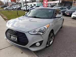 2013 Hyundai Veloster 3dr Cpe Turbo Leather , Hatchback , Good o