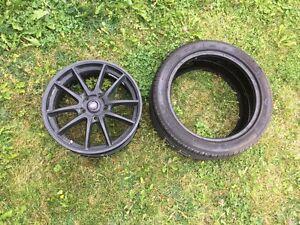 "17"" rims and tires 114.3 St. John's Newfoundland image 1"