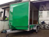 Mobile Shop, Market Stall, Tow-A-Van, Trailer, Removals, Man & Van, Shed, Storage, Useful!