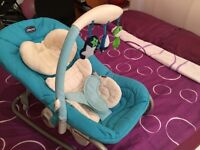 Chicco baby bouncer and rocker