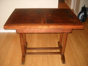 Antique English Table and Chairs