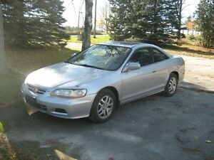 2001 Honda Accord Leather Coupe (2 door)