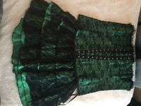 Corset and skirt size 12