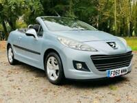 2011 Peugeot 207 1.6 HDI CC SPORT 2d 112 BHP Convertible Diesel Manual