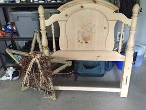 Pine headboard in REALLY GOOD CONDITION