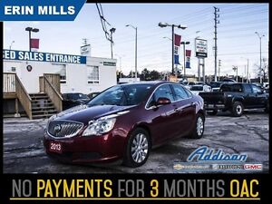 2013 Buick Verano Base   Climate Control Alloys Warranty