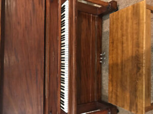 Upright Piano and Bench For Sale