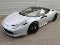 2013 59 FERRARI 458 4.5 ITALIA DCT 2D AUTO 570 BHP