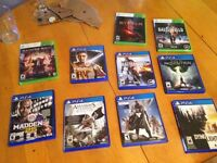 Ps4 and Xbox 360 games