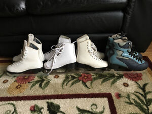Girls skates - 4 pair $15 each