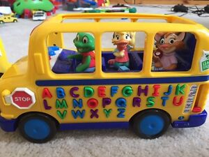 2 Toy School Buses for Sale