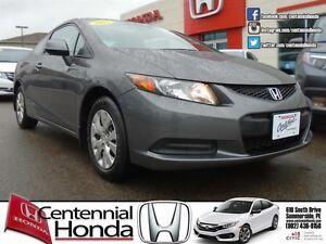 Honda Civic Coupe LX 2012