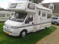 Auto Trail Cheyenne 614, 1997, Sleeps 4 with 4 Seat Belts, £13,500
