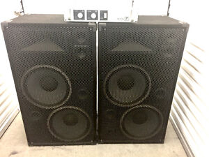Powerful PA system - Yorkville  - Studio Lab