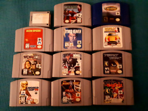 Nintendo N64 games for sale