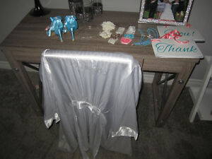 mixed wedding items TURQ AND BEACH